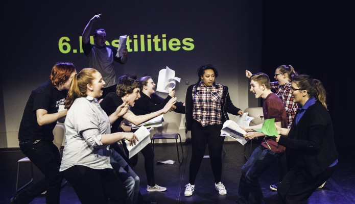 Youth Theatre Perform Changing Words at The Everyman