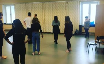 Youth Theatre rehearsals in Sweden